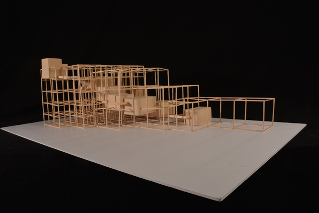 Resident gallery model elevation