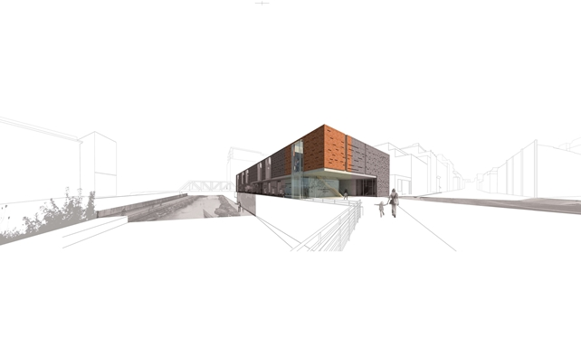 Museum of Spatial Arts site rendering
