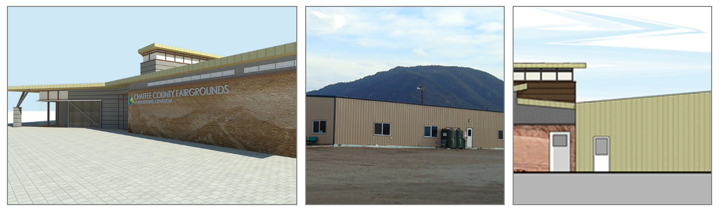 Chaffee County Fairgrounds North Building Expansion Plan