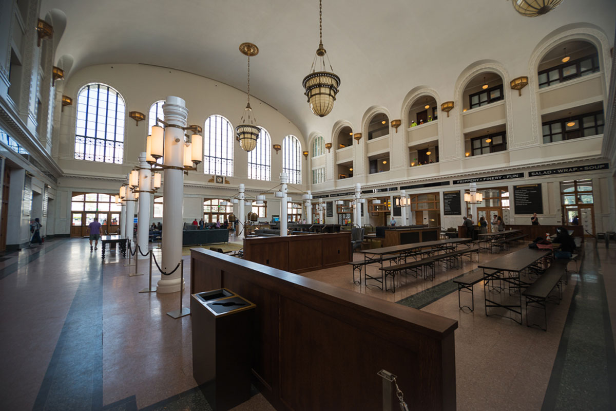 Interior of Union Station Denver