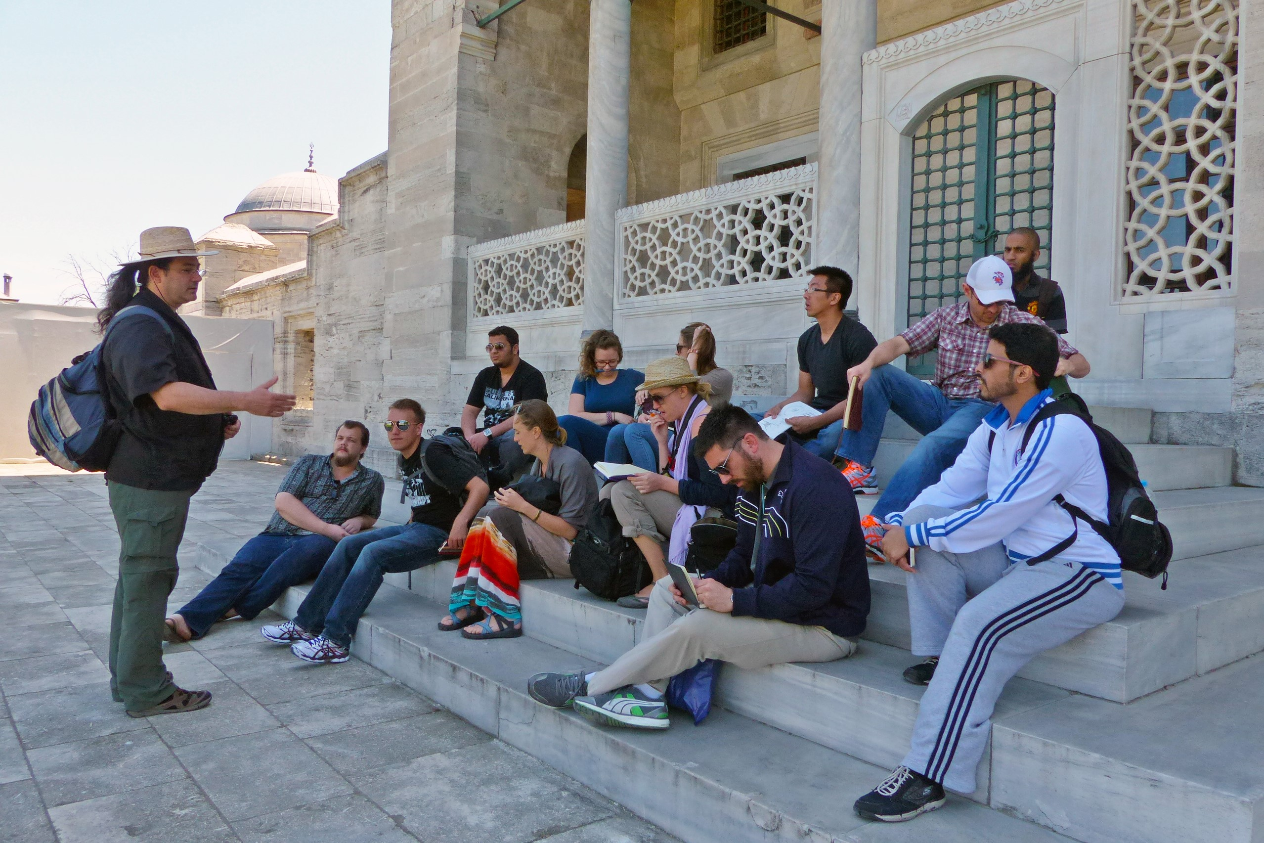 MURP Students Study Abroad in Turkey