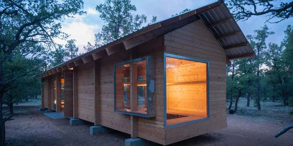 Cottonwood Cabins Designed by CAP Students